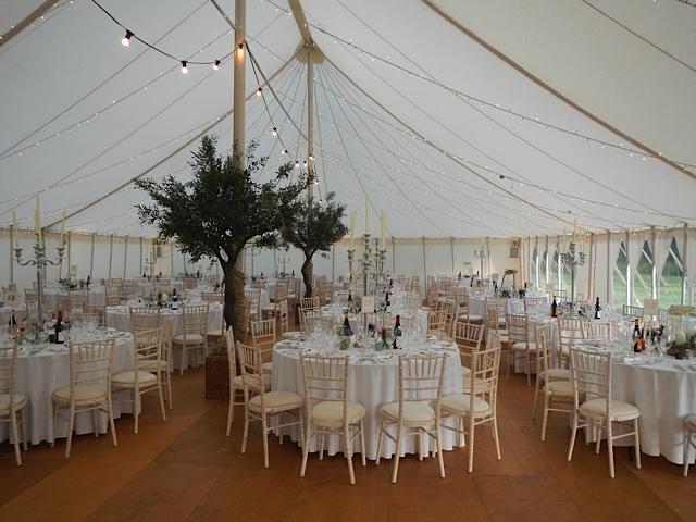wedding marquee nottinghamshire oakmere golf