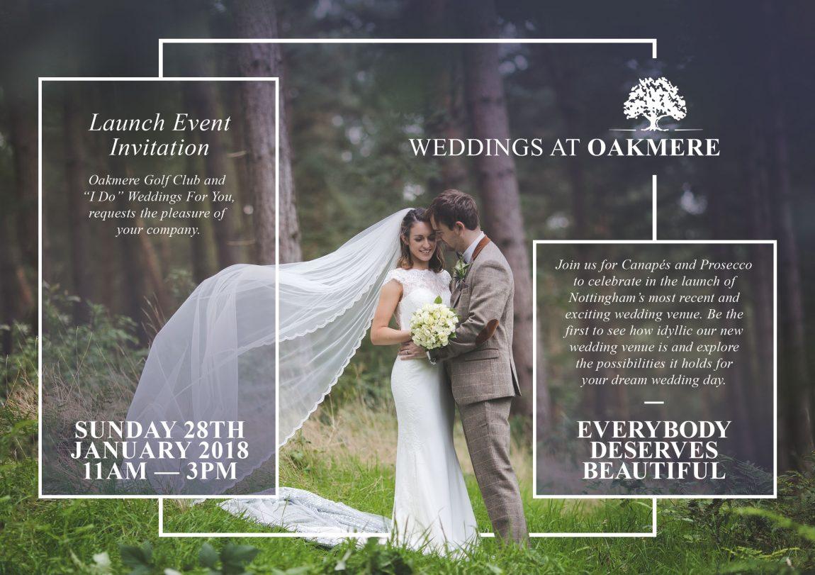 Oakmere Weddings Launch Event
