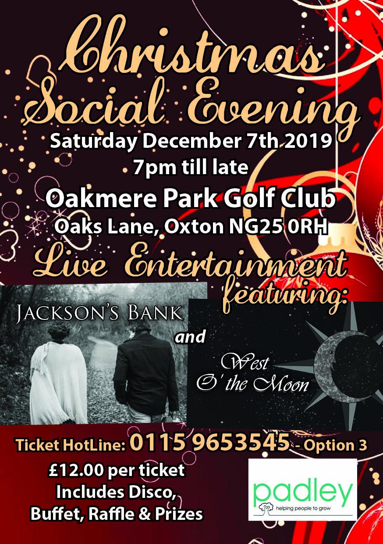 Commanders Club Christmas Social Night.